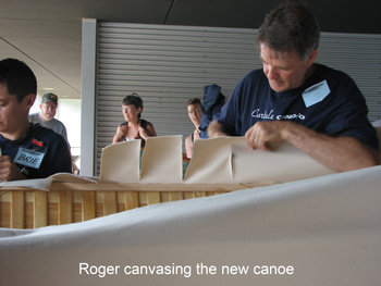 canvasing